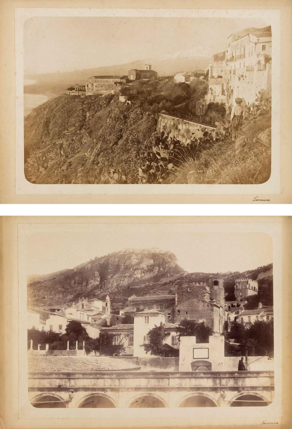 Two 19th century photographs w