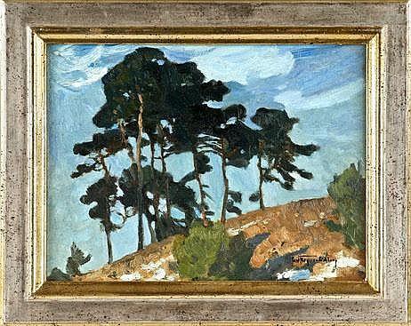 Carl KAYSER-EICHBERG (1873-1964), German landscape