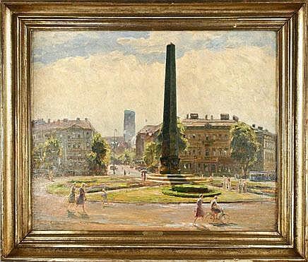Wöhner Louis (1888-1958), dtsch Painter, born in