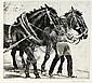 Handsign bundle of 4. Etchings, Philipp Franck, Philipp (1860) Franck, Click for value