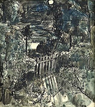 Erich Büttner (1889-1936), Indian ink and