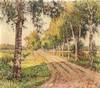 Alfred Wiegmann (1886-1973), dt. Landschaftsmaler, stud. in Düsseldorf, tät, Alfred Wiegmann, €160