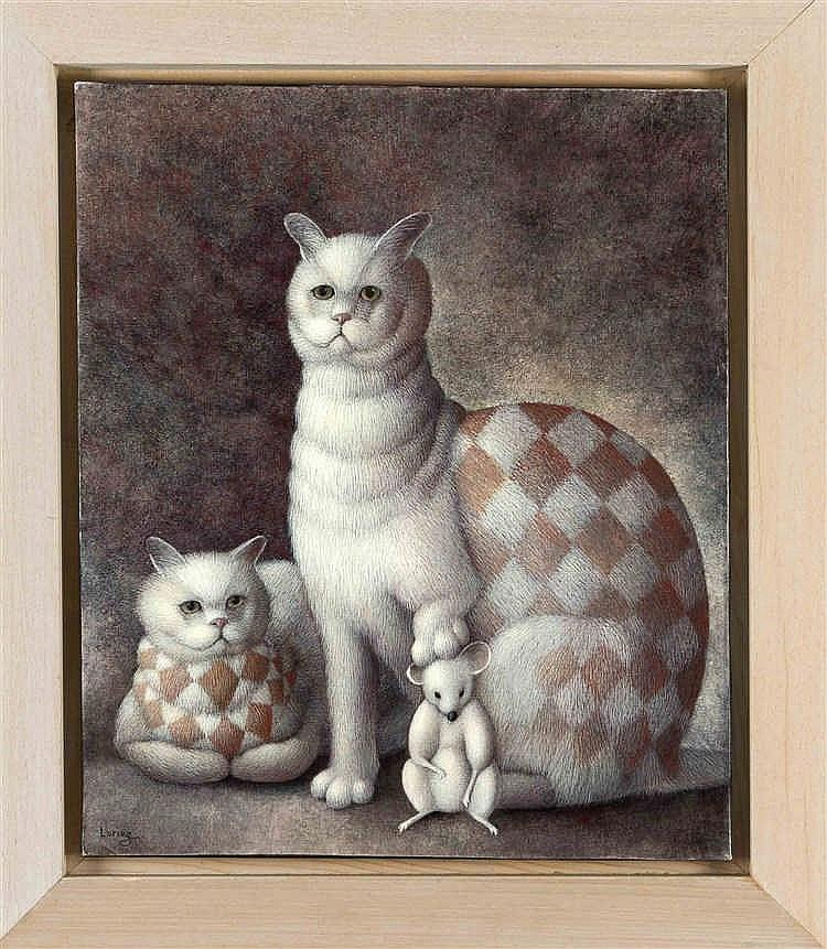Jeanne Lorioz (*1954), frz. Künstlerin, studierte am 'Ecole Superieurs des