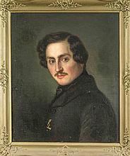 Hermann Maurice Cossmann (1821-1890) (zugeschr.), Bildnis eines Herren, Öl/