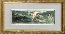 Bernhard Mühlig (1829-1910), ''Erschreckte Meerjungfern'', außergewöhnliche