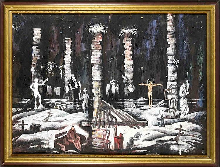Sergei Bocharov (*1953), russischer Maler, Szenograf und Bühnenbildner, Büh