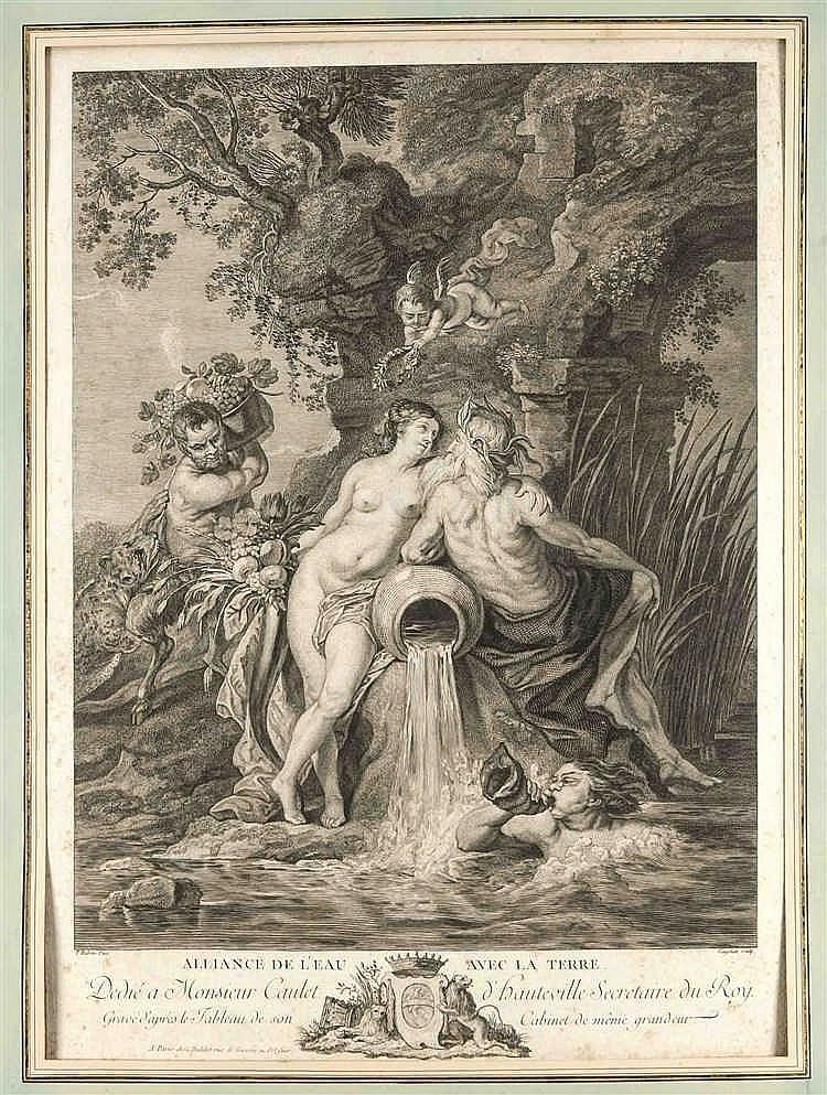Vincenzo Vangelisti (1728-1798) nach Peter Paul Rubens (1577-1640), das Bün
