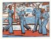 Erich Heckel (1883-1970),  ''Zirkus'' und ''Tanzende Matrosen'', zwei Origi, Erich Heckel, €500