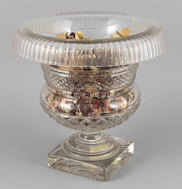 schwerer kristallpokal georgian period england um 1800 1820. Black Bedroom Furniture Sets. Home Design Ideas