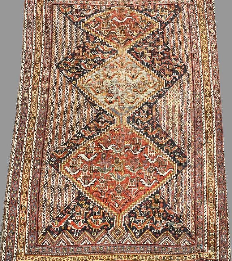 Teppich, ca 220 x 155 cm