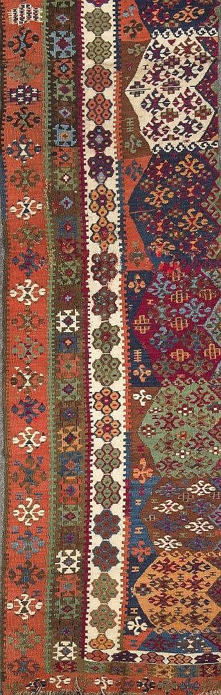 Teppich, ca 262 x 70 cm