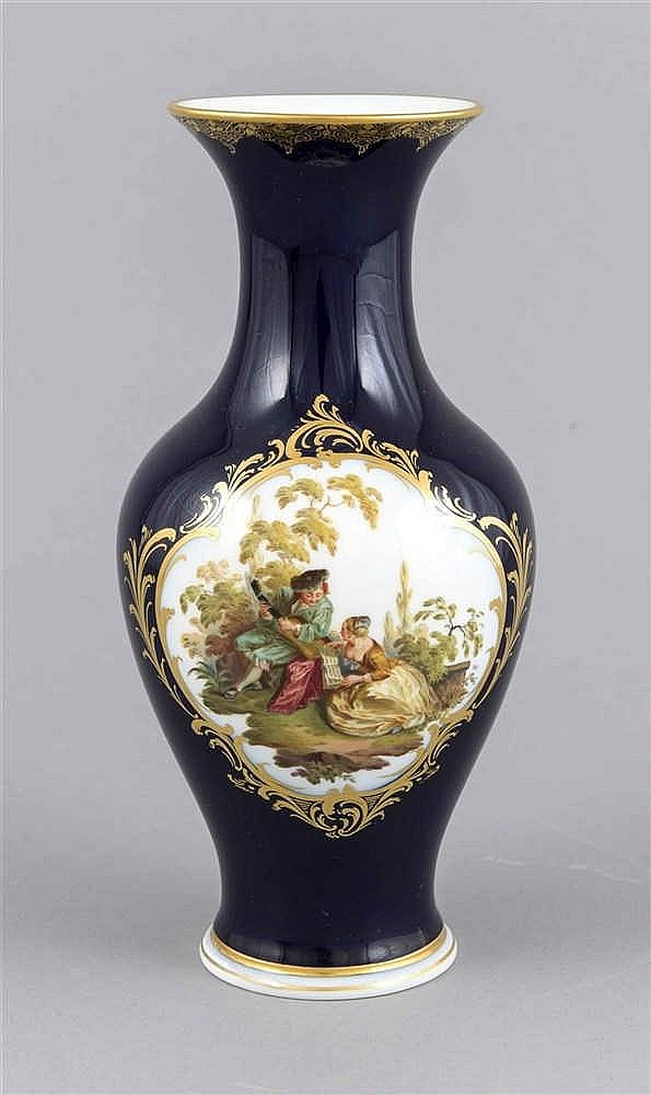 vase meissen marke 1924 34 1 w frontseitige reserve mi. Black Bedroom Furniture Sets. Home Design Ideas