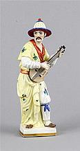 Malabar Mandoline spielend, w. Thüringen, 20. Jh., nach dem berühmten Meiss