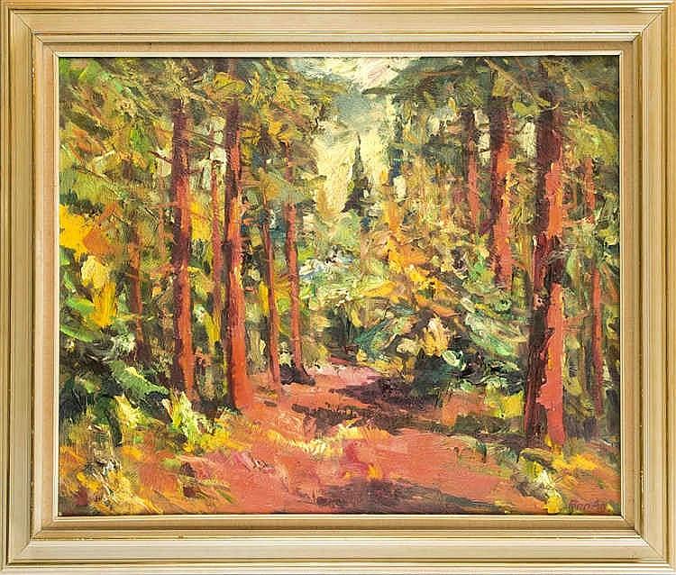 Finn Andersen (1909-1987) dänischer Maler expres