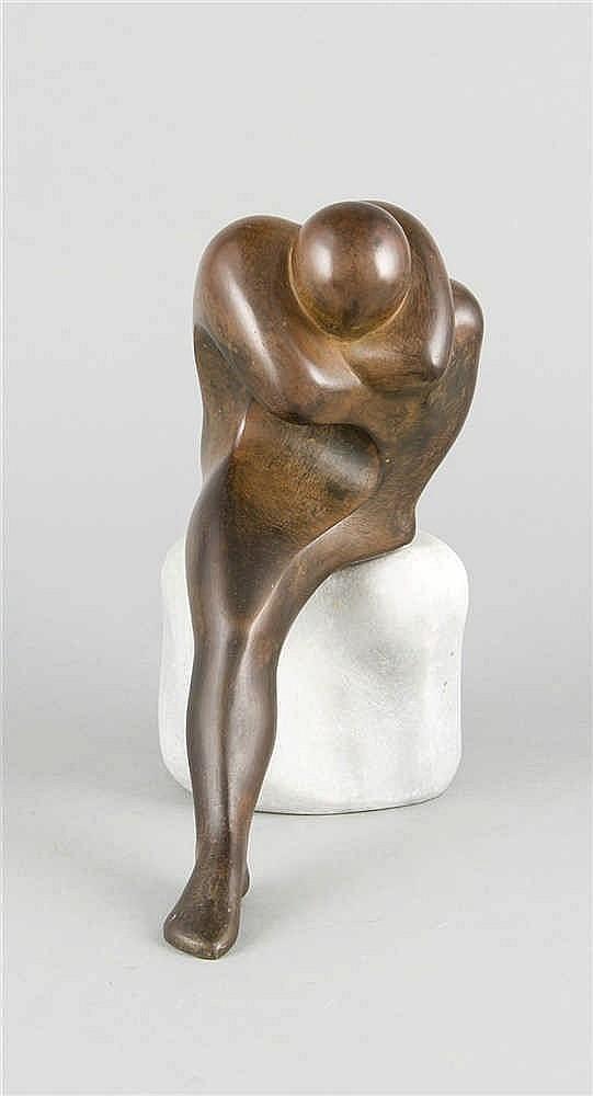 Selvino Cavezza (*1942) ital. Bildhauer stilisie