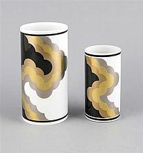 Zwei Vasen Rosenthal Marke nach 1957 Entwurf Na