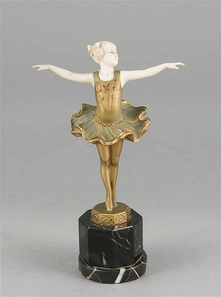 Ferdinand Preiss (1882-1943) Art-déco Chryselepha