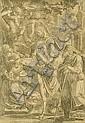 Cornelis Cort (1533-1578), after, fleeing to, Cornelis Cort, Click for value