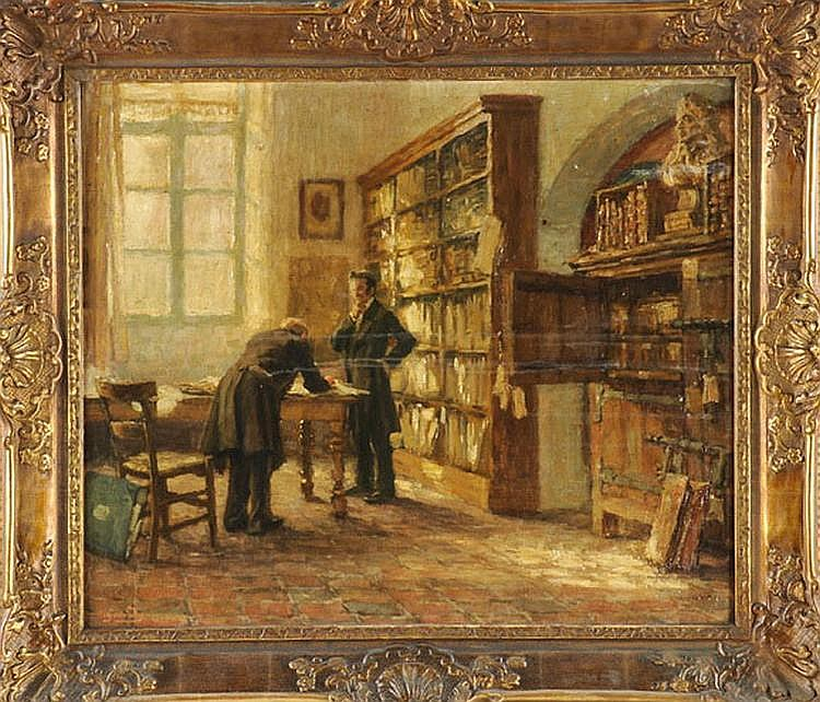 Geudens Albert (1869-1949), Belgian painter,