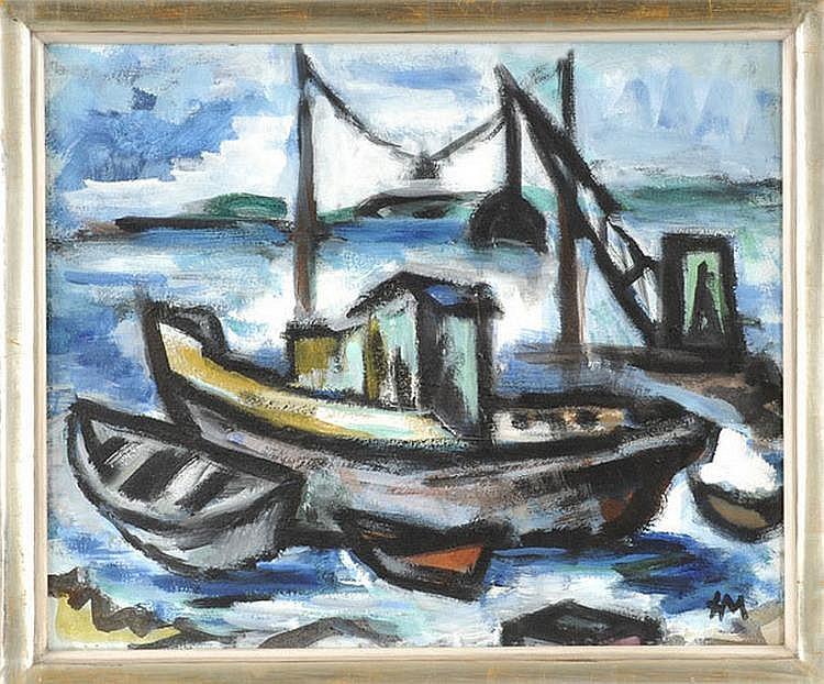 Helmut Märksch (1907-1980), Berlin painter,