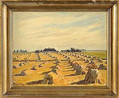 Walther Meinhardt (1891-1948), Danish painter, box