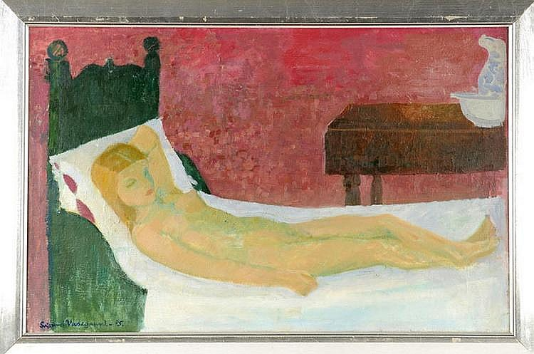 Vasegaard Sigurd (1909-1967), Danish Expressionist