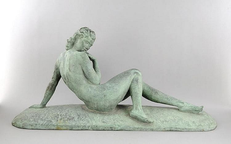 Sign U. Cipriani, Ugo (1887-1960), seductive