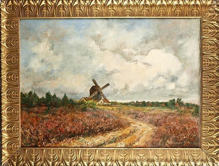 Richard Lindner (1856 -?), Berlin landscape