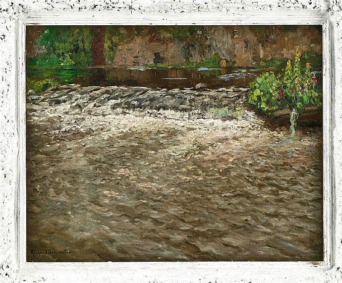 Richard Schroeter (1873 -?), Dtsch Painter,