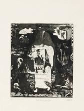 """Pit Morell (*1939), """"Nacht-Wa"""