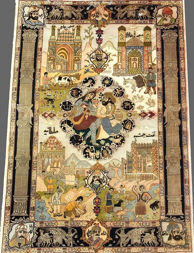 Teppich, ca 148 X 99 cm
