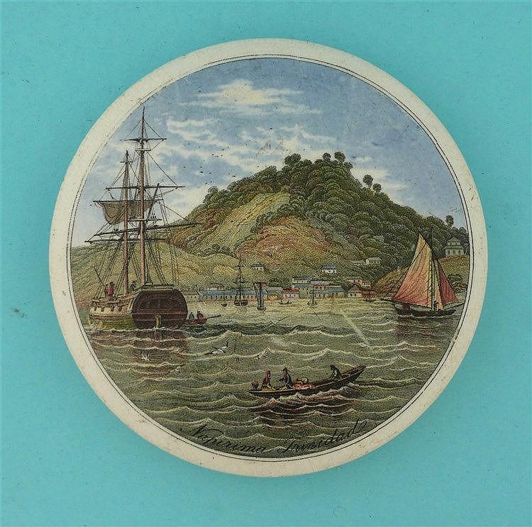 Napirima, Trinidad (225) large    pot lid, pot lids, potlid, potlids, pratt