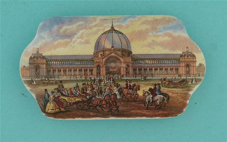 Alexandra Palace (200)    pot lid, pot lids, potlid, potlids, prattware