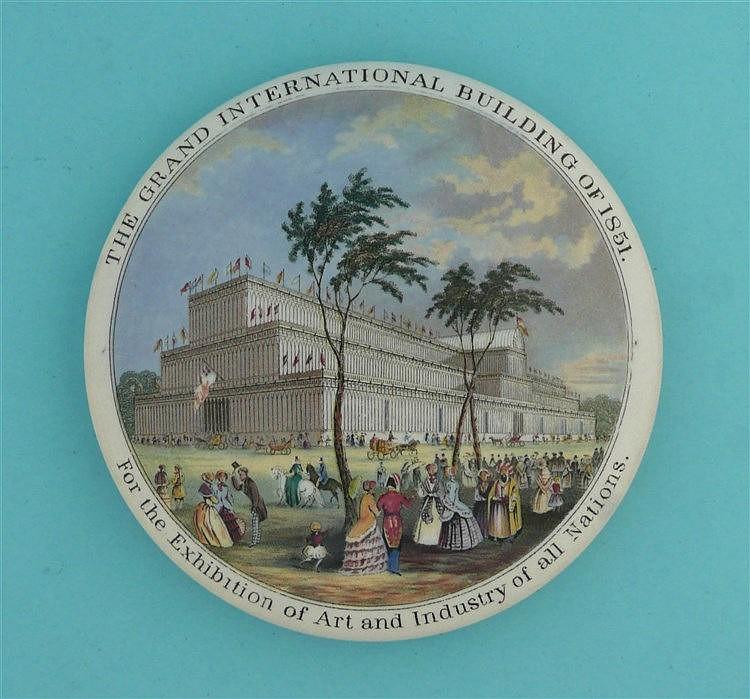 Grand International Buildings of 1851 (133) pot lid, pot lids, potlid, p
