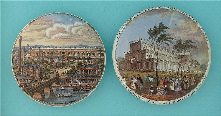 L'Exposition Universelle (145) and Grand International Buildings (133) rest