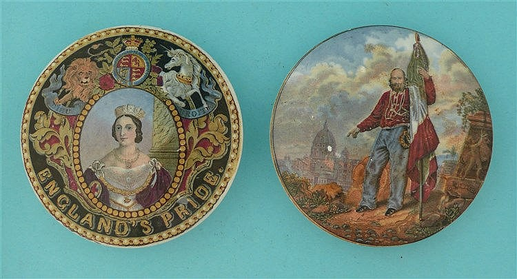England's Pride (149) and Garibaldi (169) glaze defect (2)    pot lid, pot