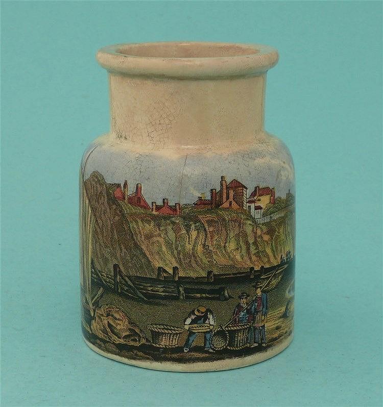 Pegwell Bay, Kent (69) foot restored    pot lid, pot lids, potlid, potlids,