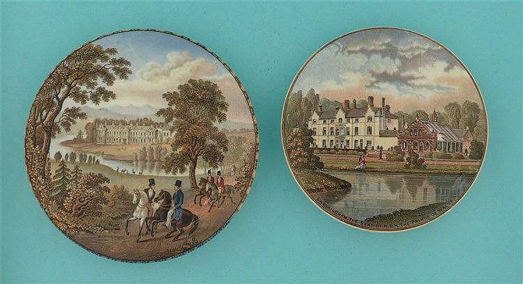 Strathfieldsaye (188) and Sandringham (181) (2)    pot lid, pot lids, potli