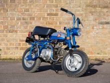 1969 Honda Z50A K1 Short Tail Monkey Bike