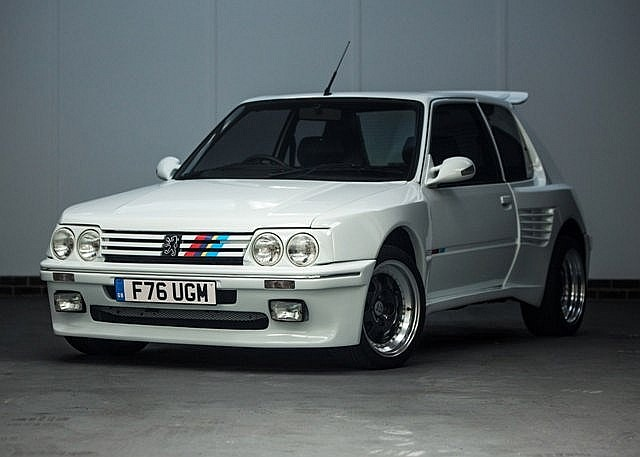 1989 peugeot 205 gti dimma 1 9 litre. Black Bedroom Furniture Sets. Home Design Ideas