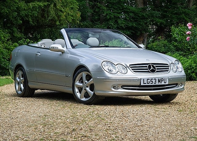 2003 mercedes benz clk 500 elegance. Black Bedroom Furniture Sets. Home Design Ideas