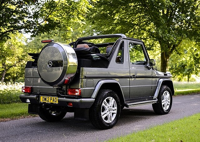 2012 mercedes benz g wagon 350 cabriolet for Mercedes benz g wagon 2012