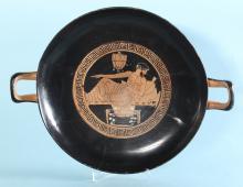 Attic Red-Figure Kylix: Dionysos
