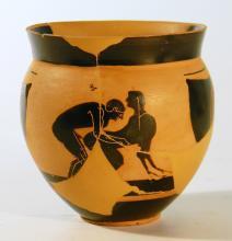 Attic Black-Figure Mastoid Cup