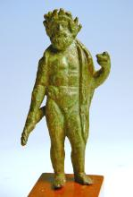 Roman Bronze Statuette of Jupiter