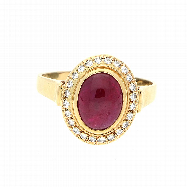 14K Yellow Gold Ring | Ring aus 585er Gelbgold