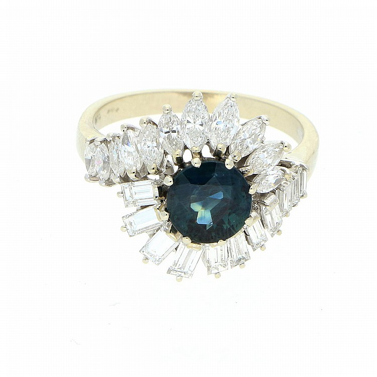 18K White Gold Ring | Ring aus 750er Weißgold