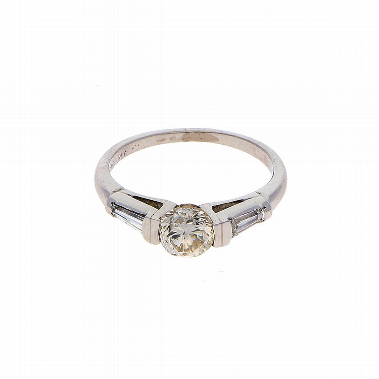 Diamond Ring - Platinum | Damenring aus Platin