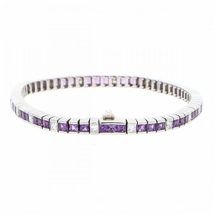 18K White Gold Exclusive Bracelet | Exclusives Diamantarmband in 750er Weißgold