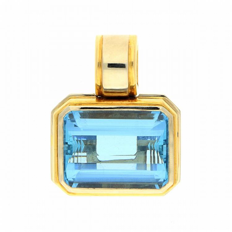 18K Yellow Gold Necklace   Anhänger aus 750er Gelbgold